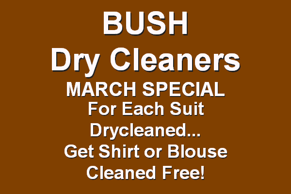 Bush Dry Cleaners - The Cleanest Show in Town
